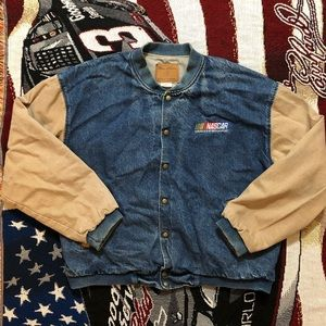 VTG Men's XL Nascar Varsity Jacket 🔥